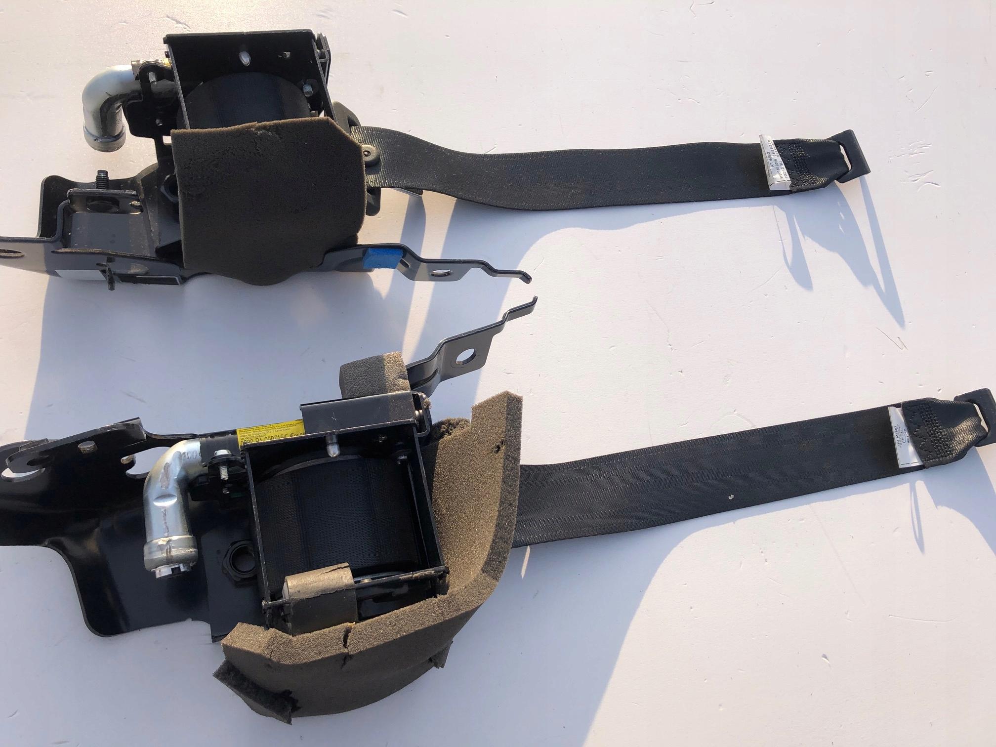 mazda cx3 cx5 пояс ремни безопасности сзади задняя панель