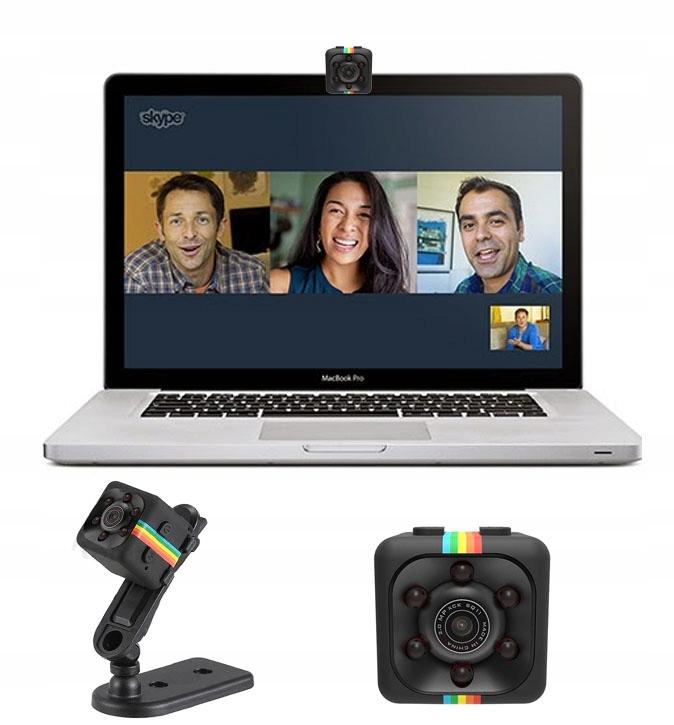 FULL HD mini webkamera kube + utvidelse Model SQ11