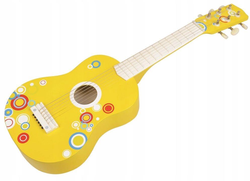 Drevená akustická gitara 6strun Lelin
