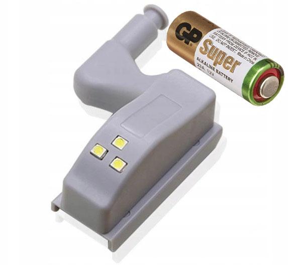 3-х светодиодный навесной светильник для шкафа + аккумулятор