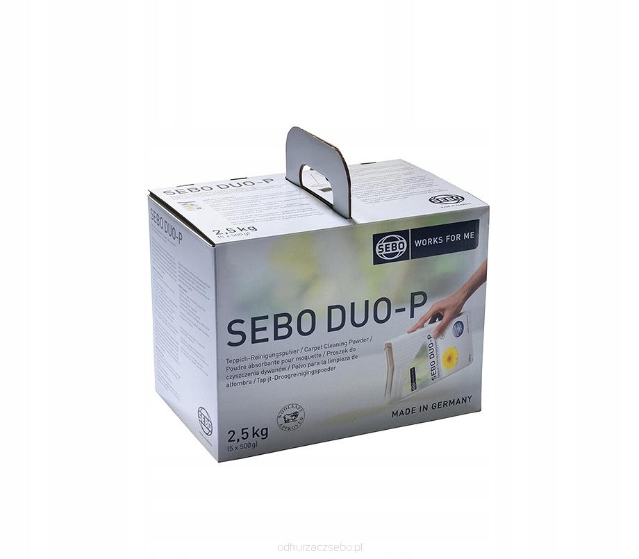 Suchý čistiaci prášok SEBO DUO-P 2,5 kg