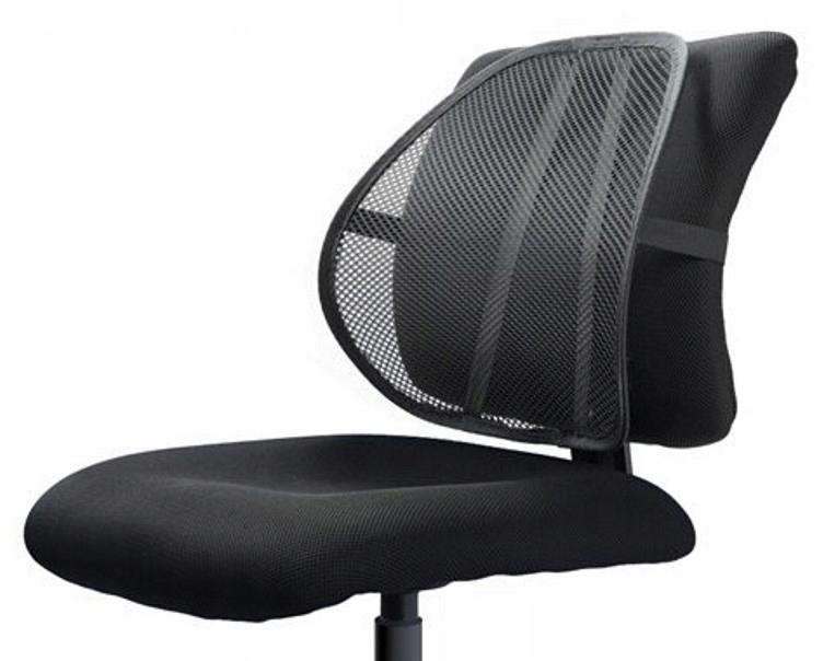 Lumbálna podpora pod zadnou stoličkou pre auto