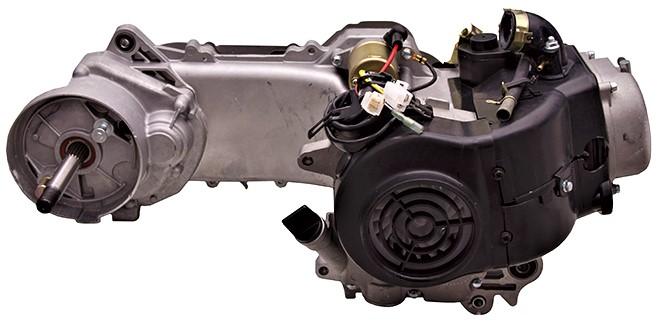 Двигатель к skutera moretti 50cm 4t barton romet, фото 6