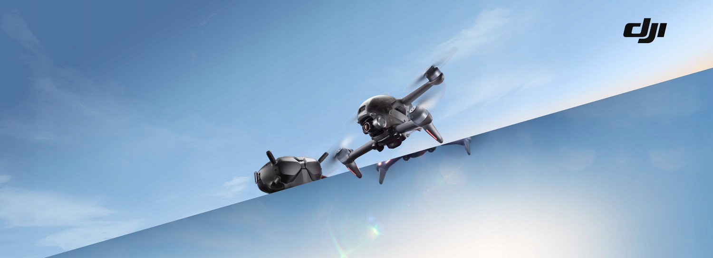 Dron DJI FPV Combo + Fly More Kit + DJI Motion Liczba śmigieł 4