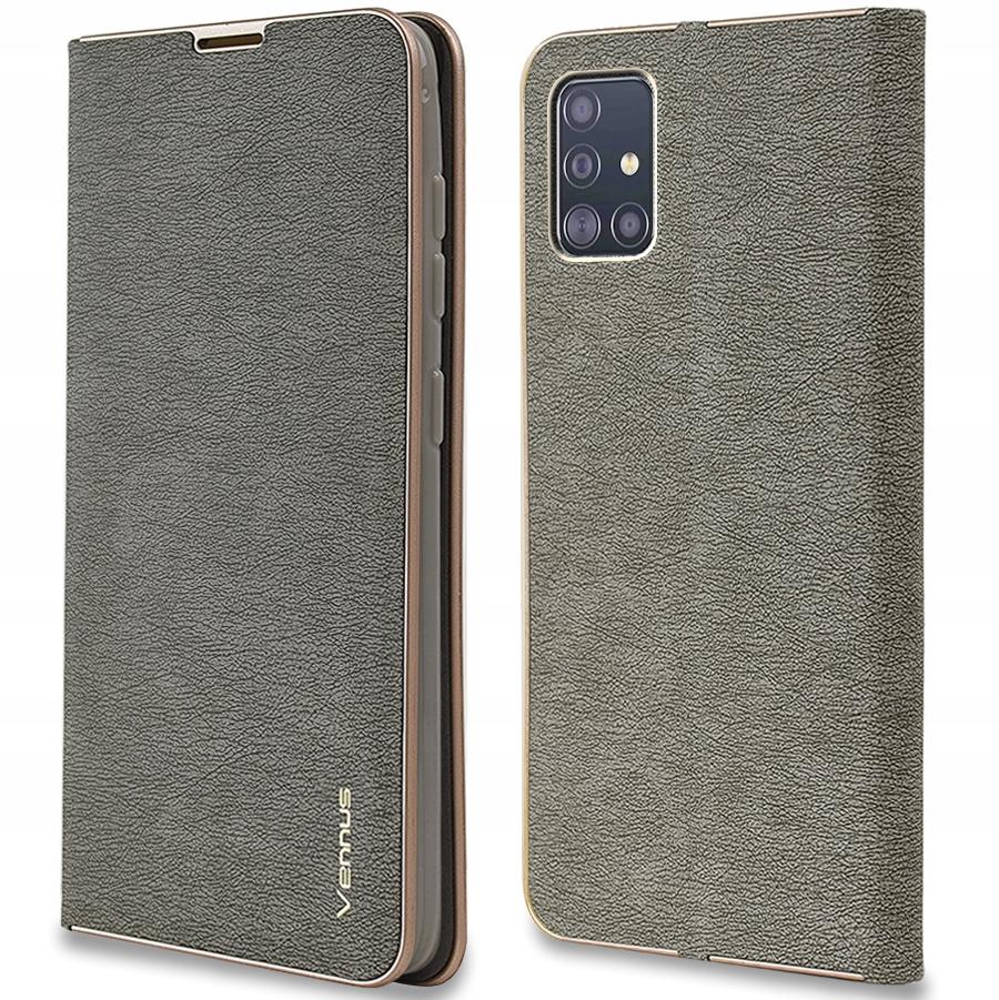 Etui do Samsung Galaxy A51 Venus Magnet + Szkło 9H Dedykowany model Galaxy A51