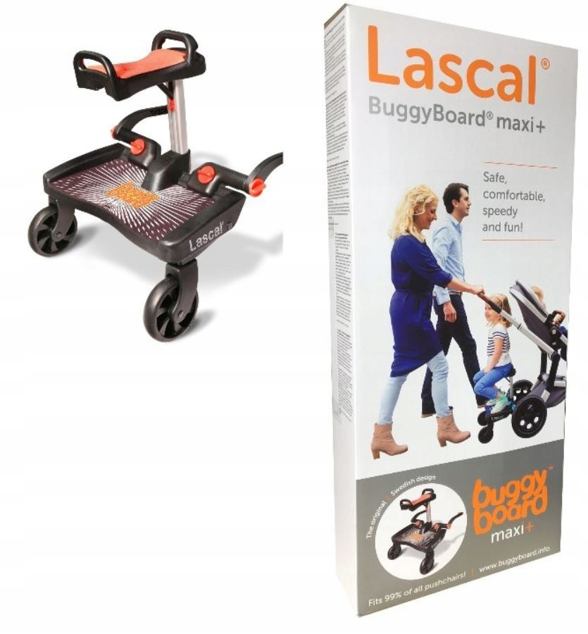 Prístelka so sedadlom Lascal BuggyBoard Maxi +