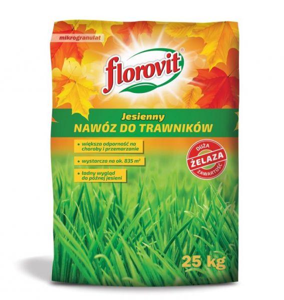 Nawóz do trawników jesienny Florovit 25 kg worek