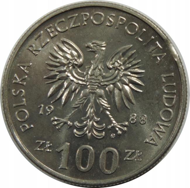 Купить 100 ZOTY 1988 - УНИЧТОЖЕНИЕ МИН (1-) - K1406 на Otpravka - цены и фото - доставка из Польши и стран Европы в Украину.