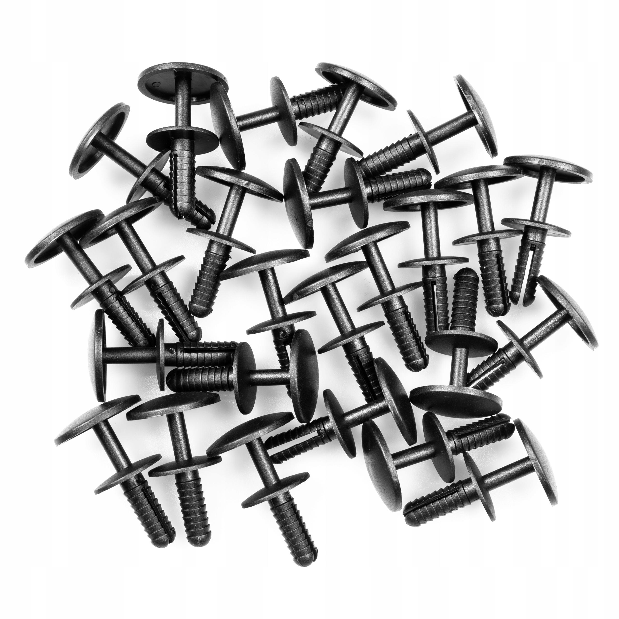 Застібка кілок розпорний обшиви універсальний 6 mm - фото 4