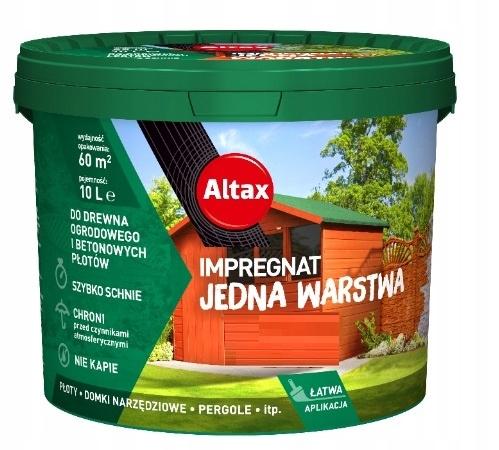 ALTAX impregnat do drewna ogrodowego 10l