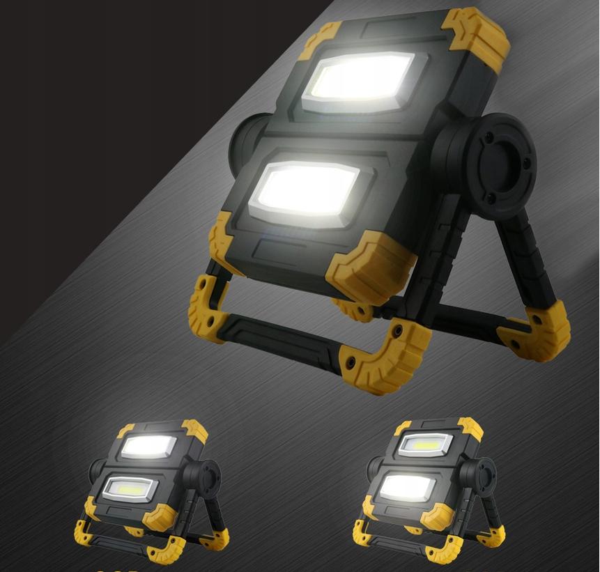 Funkcjonalna LAMPA ROBOCZA LED AKUMULATOROWA Producent części Inny