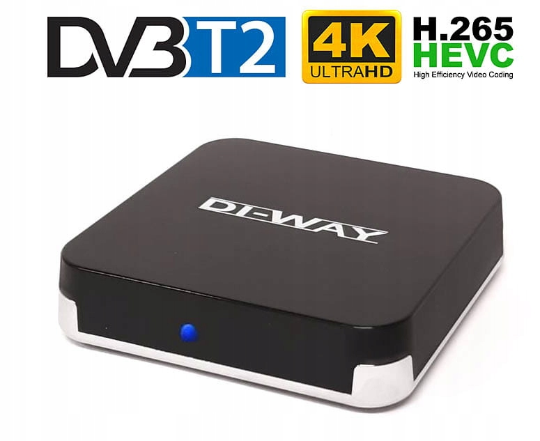 DI-WAY AND-4X4 DVB-T2 H.265 Android 4K 10252128250 - Sklep internetowy AGD, RTV, telefony, laptopy - Allegro.pl