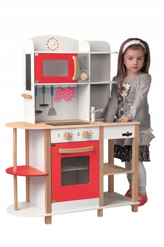 Ako darček Drevená kuchyňa Hračka pre deti