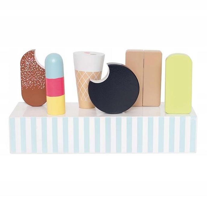 Jabadabado: Drevená zmrzlina - krabica Retro / T262