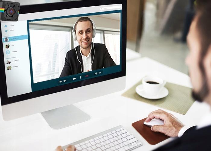 Mini webcam kube FULL HD + utvidelse Produsent kode SQ11