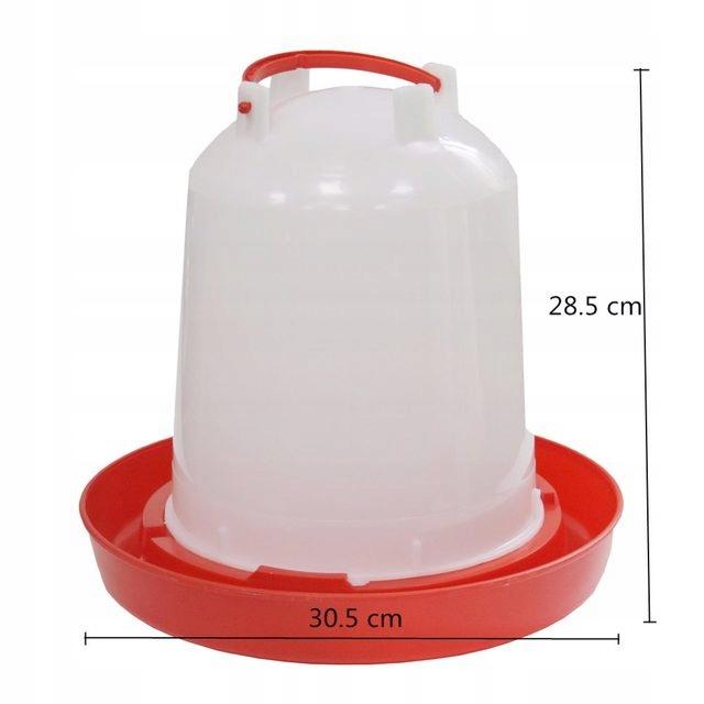 Bedrá poids pre hydinu kačica Kur 6 litrov