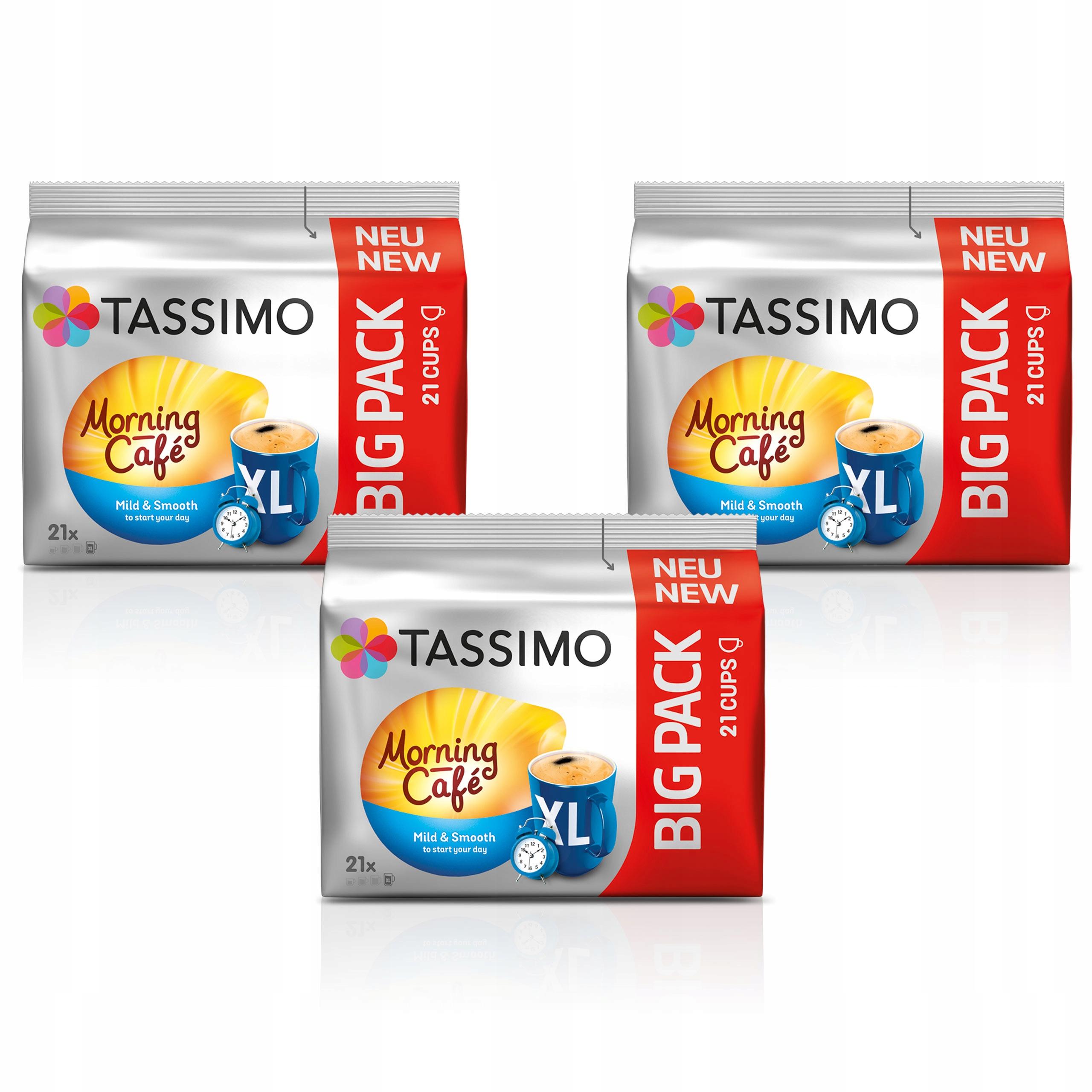 Kapsułki Tassimo Jacobs Morning BIG PACK XXL 63szt