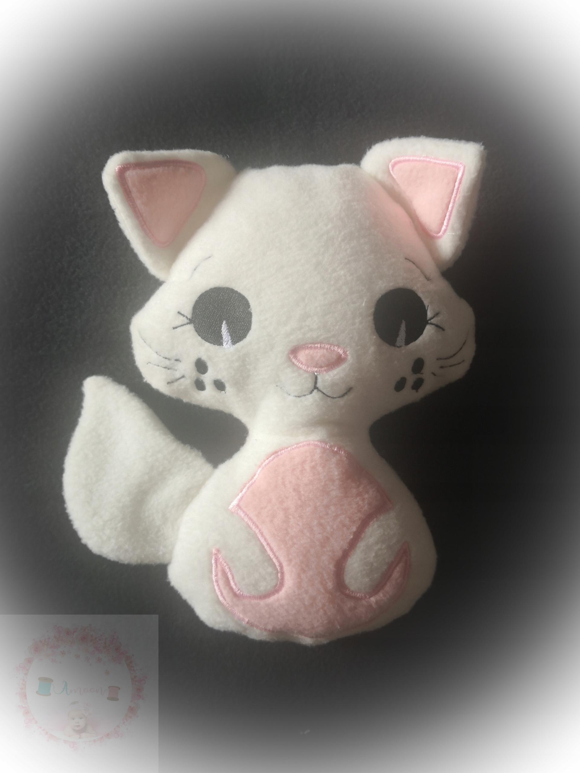 Ručne vyrobený maskot mačiatka, plyšové zvieratká pre deti