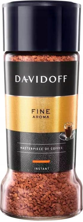 DAVIDOFF Fine AROMA растворимый кофе 100гр