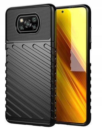 Etui do Xiaomi POCO X3 NFC Pancerne Case + Szkło