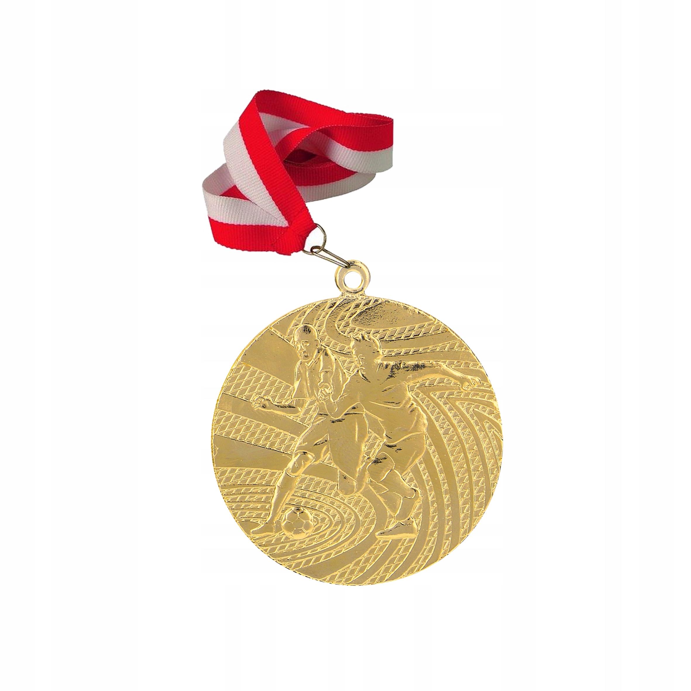 Medaily Medal Futbal + Ribbon + Bezplatný rytec