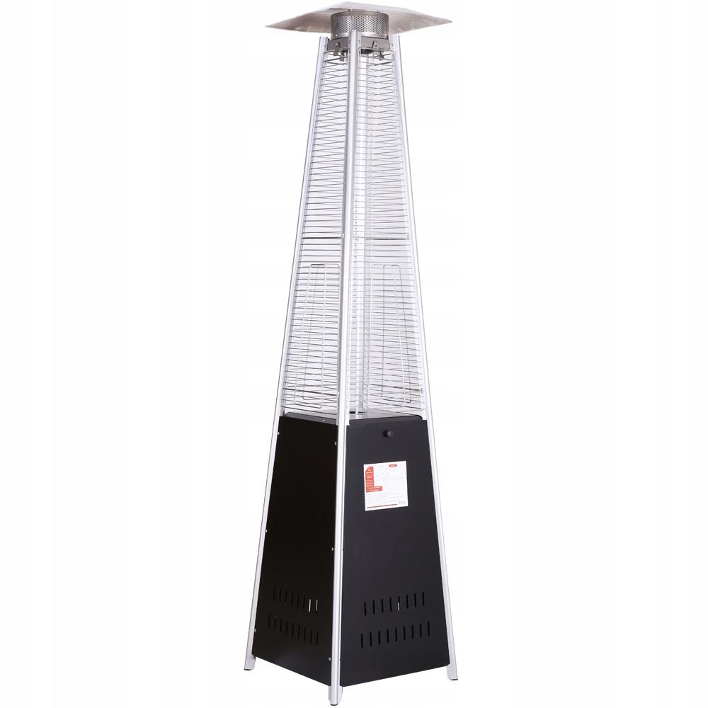 Vykurovací dáždnik Pyramidový sálavý ohrievač 13 KW + zadarmo