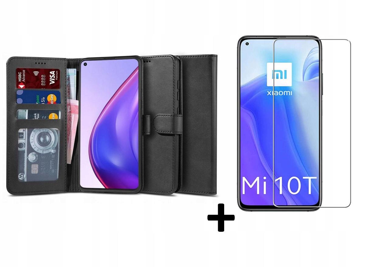 Etui Wallet 2 + szkło do Xiaomi Mi 10T / 10T Pro