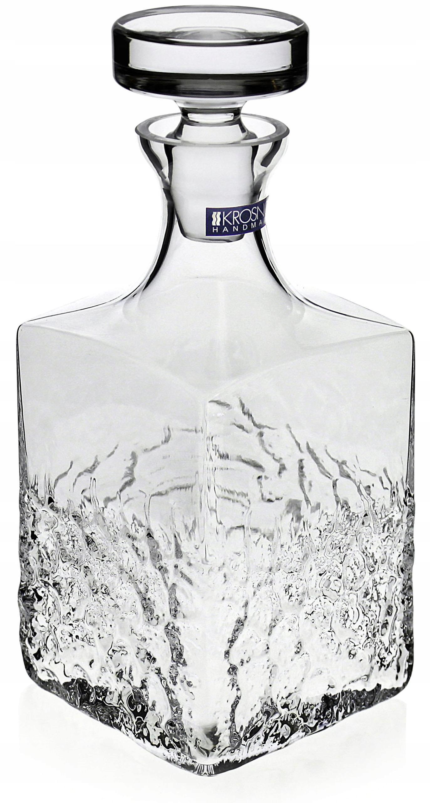 Hranatá karafa na whisky KROSNO Teroso 550ml