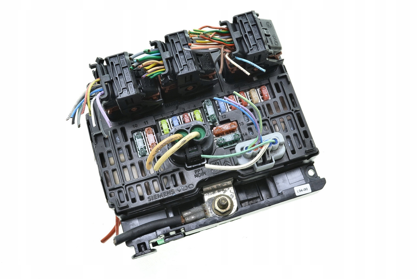 модуль bsm citroen c4 c5 6500ck bsm-l04 s118983004q