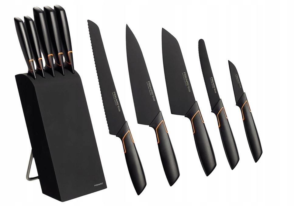 Купить FISKARS Набор 5 ножей в блоке EDGE 1003099 на Otpravka - цены и фото - доставка из Польши и стран Европы в Украину.