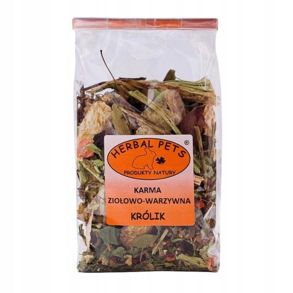 Травяной корм для домашних животных Травяной и овощной корм для кроликов