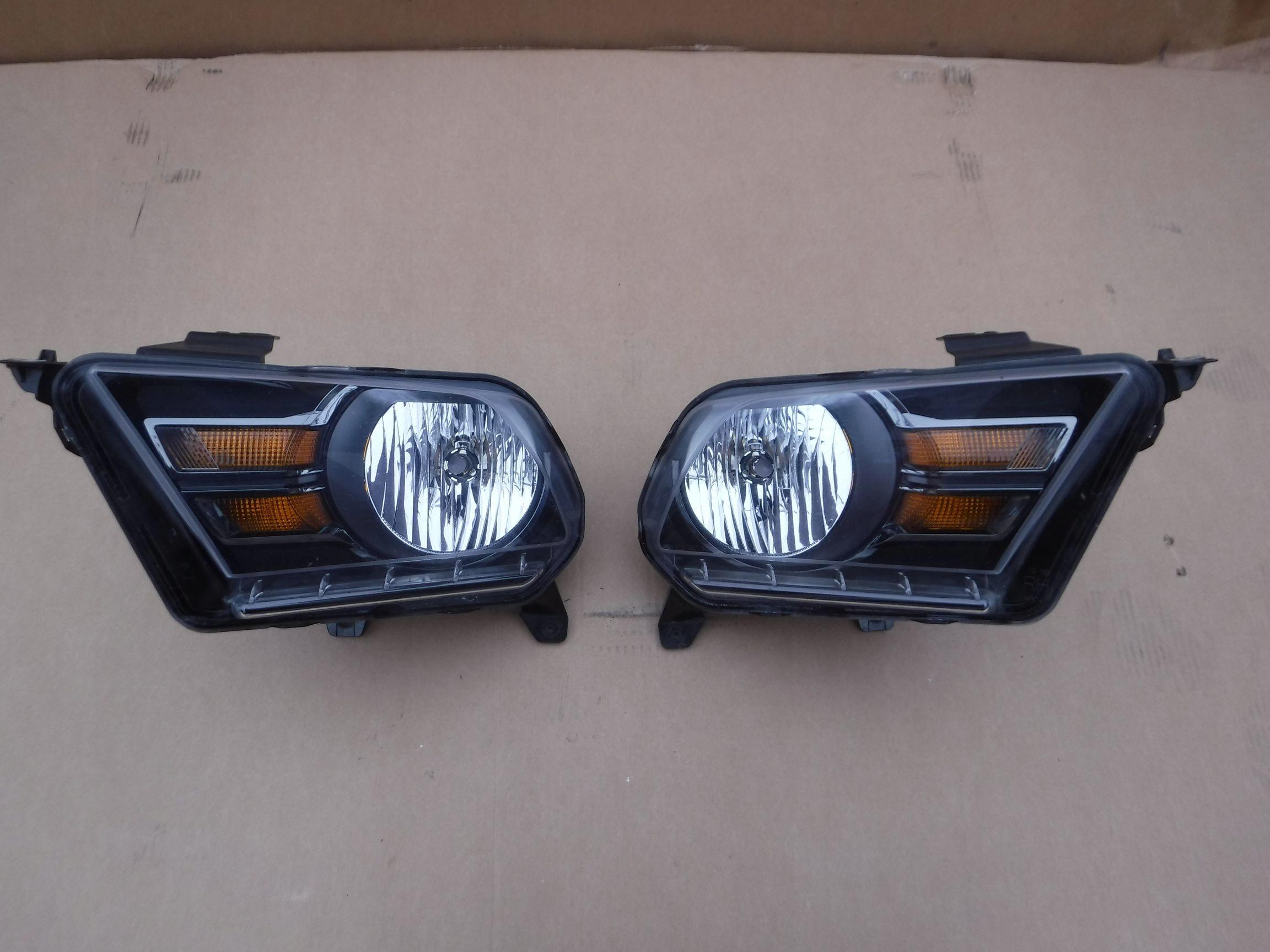 лампа лампы ford мустанг v 10-14' boss 302 черные
