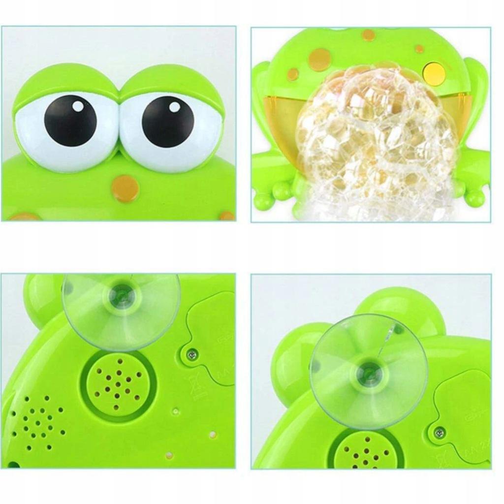Żaba bąbelkowa do robienia piany żabka 1111-19 EAN 5907508464370