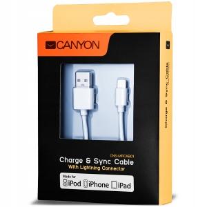 Certyfikowany Przewód Lightning Apple iPhone 1M