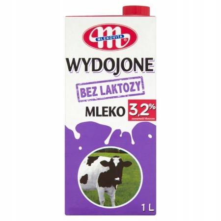 Wydojone Mleko bez laktozy UHT 3,2% 1 l