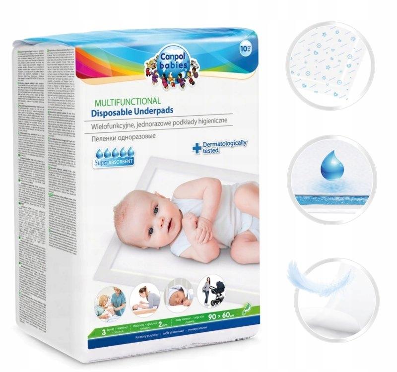 Multifunkčné hygienické základy CANPOL 78/002