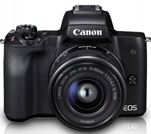 Купить CANON EOS M50+EF-M 15-45+Torba+Karta pamięci 16GB на Otpravka - цены и фото - доставка из Польши и стран Европы в Украину.