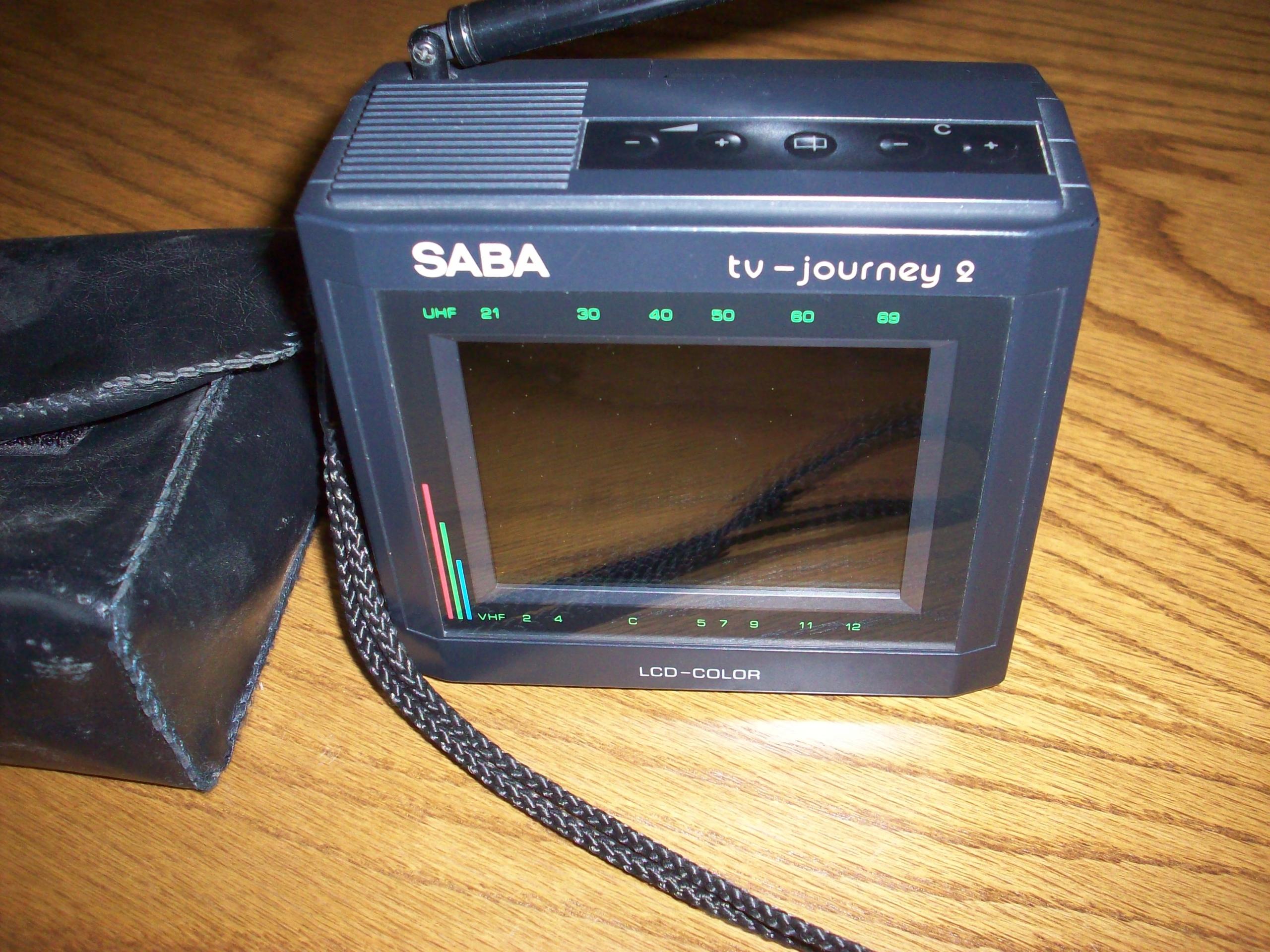 SABA TV Journey 2 - идеальное состояние коллекционера