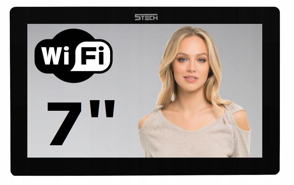 Wideodomofon Videodomofon 7' WiFi 5TECH TELEFON Waga produktu z opakowaniem jednostkowym 3 kg