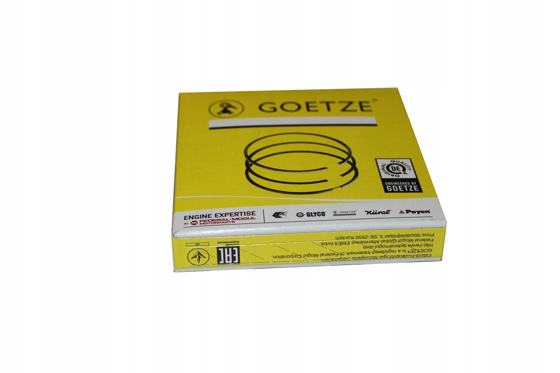 goetze кольца поршневые компл на 1 поршень ford 2 0