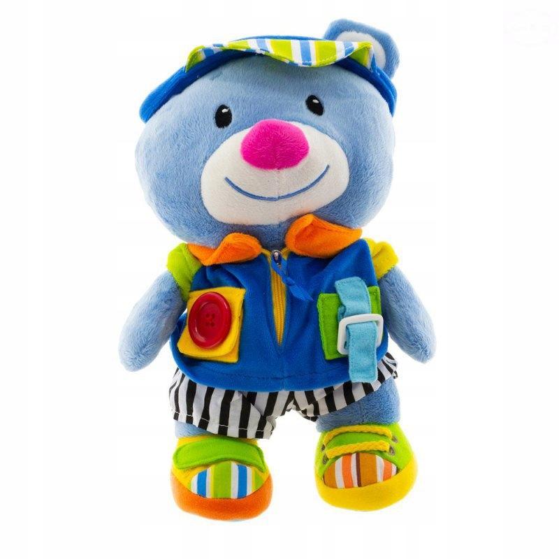 Medvedík plyšový pre batoľatá s hudobným boxom