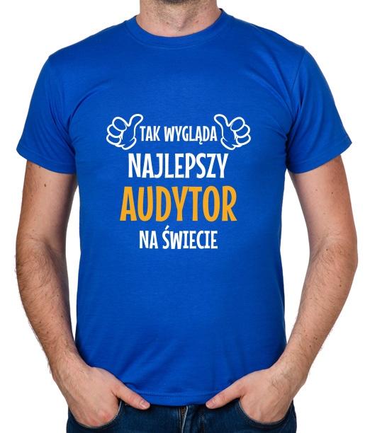 koszulka Najlepszy Audytor prezent