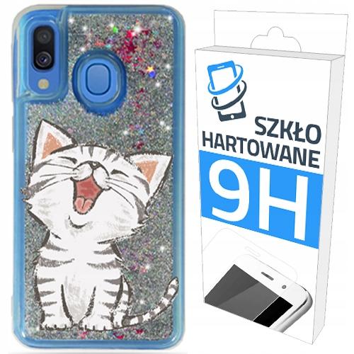 Etui Brokat+szklo na Samsung Galaxy A40 Obudowa