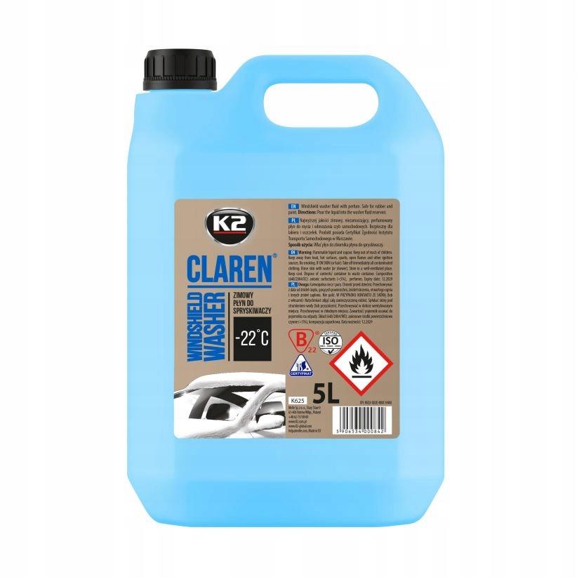Омыватель K2 Claren Winter 5л