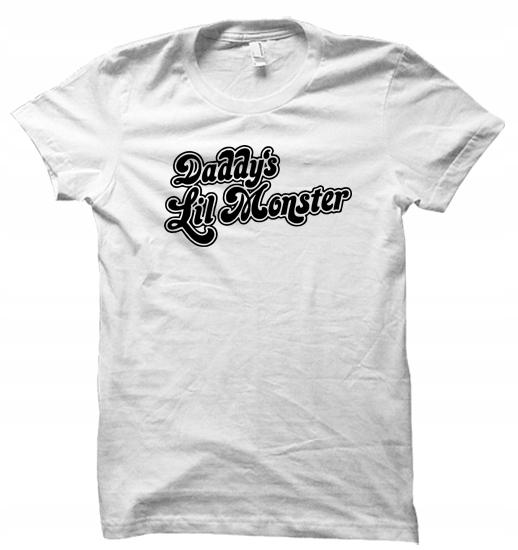 Daddy's LIL Monster harley quinn koszulka damska