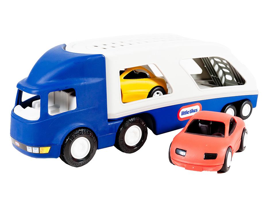 LITTLE TIKES Veľké odťahovacie vozidlo + 2 AUTA 170430