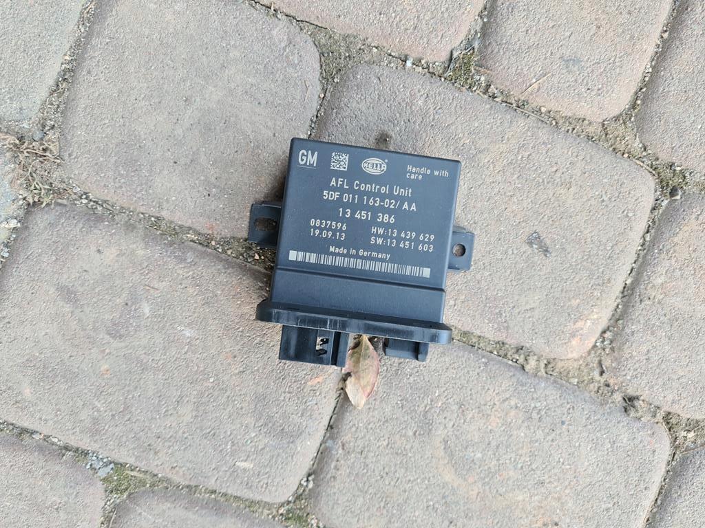 модуль afl би ксенон лампы opel insignia 13451386