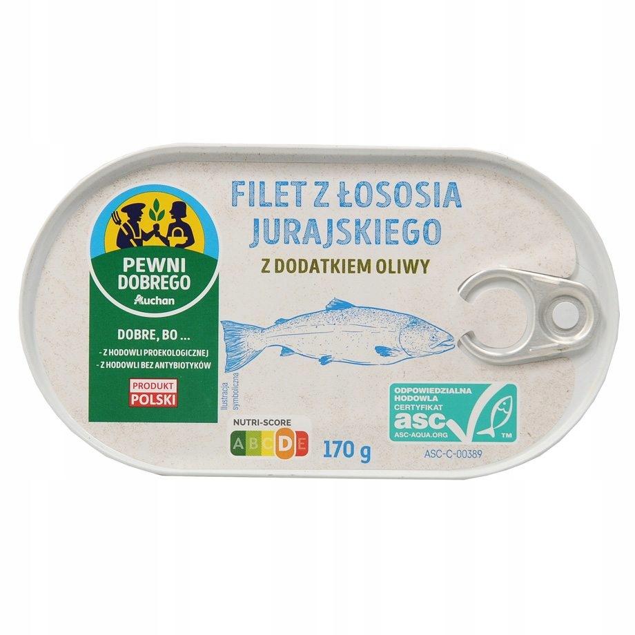 Филе юрского лосося