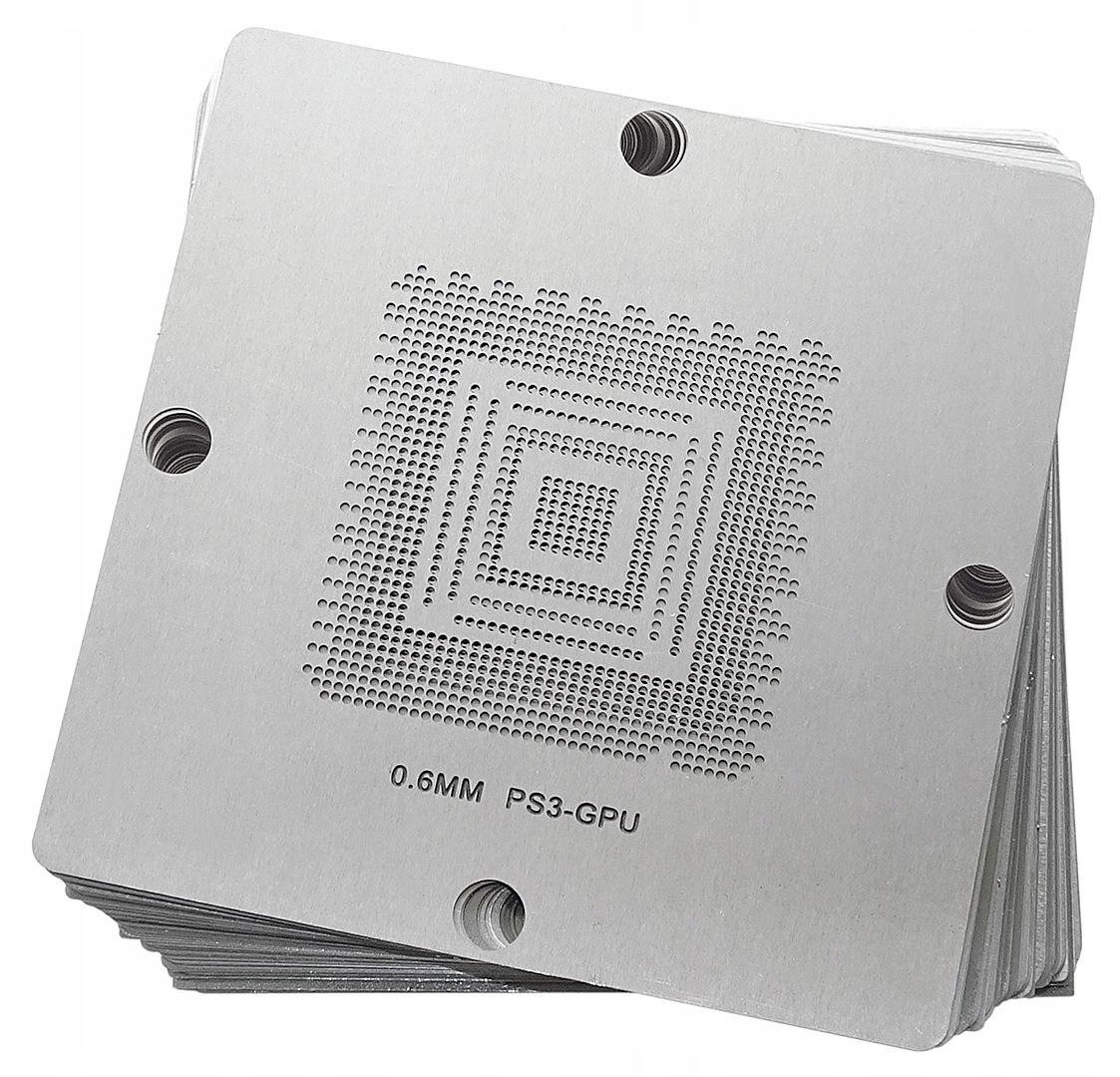 SITA BGA KONZOLY XBOX PS3 WII 80x80mm SADA 37ks