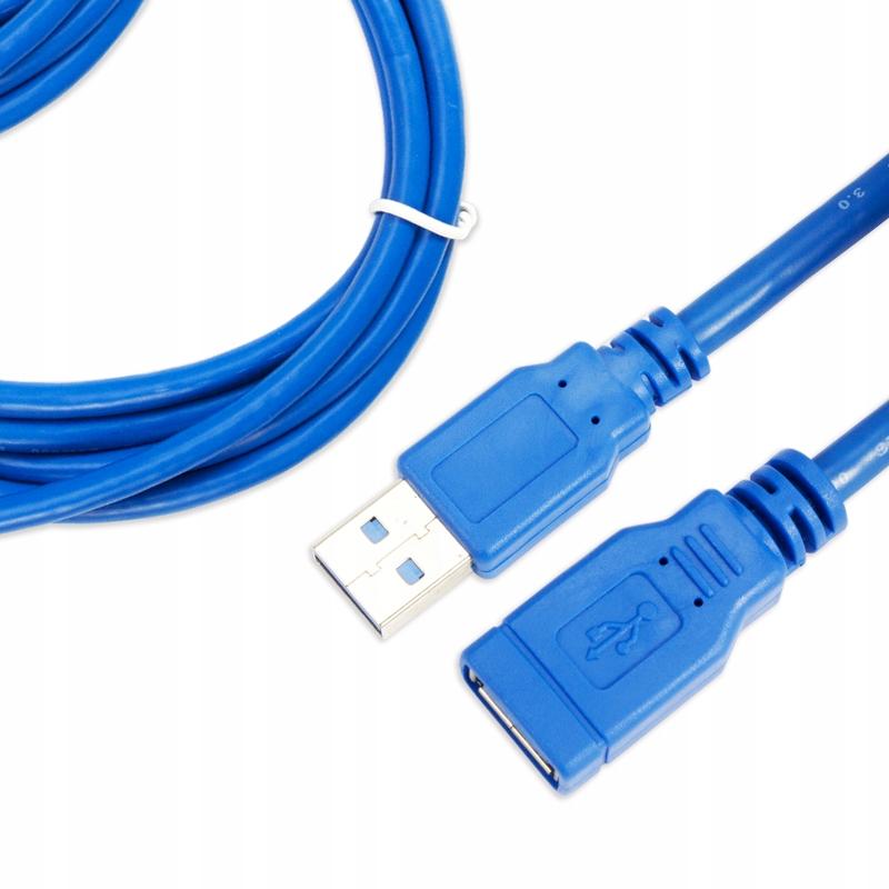 Купить УДЛИНИТЕЛЬ USB 3.0 180см 1,5м на Otpravka - цены и фото - доставка из Польши и стран Европы в Украину.